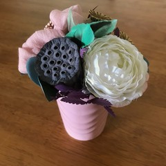 Art Deco - Mini Posy arrangement - Boho chic - 15x13cm - Flowers forever