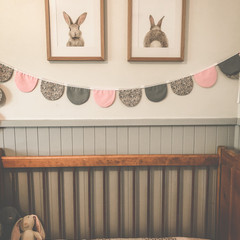 SPRING FIELDS SCALLOP BUNTING