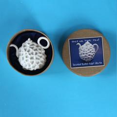 Coral Teapot