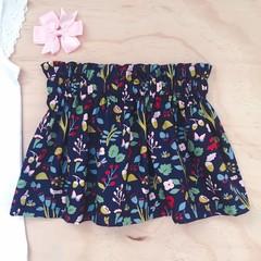 Skirt - Teal Floral
