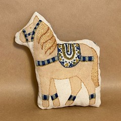 DALA HORSE With blue bling