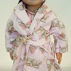 Bedtime set - PJ's and Dressing Gown - Bunnies