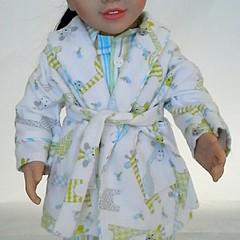 Bedtime set - PJ's and Dressing Gown - Giraffes