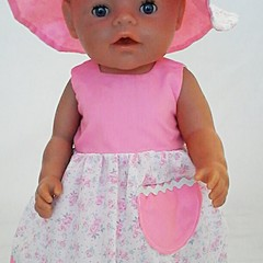 Baby doll Sundress, Hat and Knickers - Pink Floral