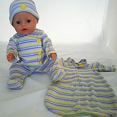 Baby doll Sleep Set - Stripes