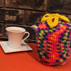 Tea Cosy/Cozy - Tropical Design for a Taller Pot