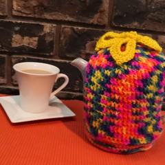Tea Cosy/Cozy - Tropical Design for a Taller Pot