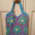 Little Girl's Handbag - Flower Patches
