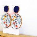 Sustainable Statement Earrings - Spring Flowers - Surgical Steel - Wholesale