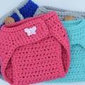 PATTERN diaper cover - 3-6 month - adjustable straps - newborn bab
