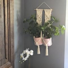 Elm | Double Plant Hanger