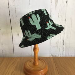 Kid's bucket hat - Totally Cactus - 2-3 yrs