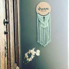 Dream Little One | Macrame Wall Hanging