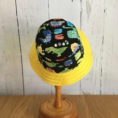 Toddler bucket hat - Dino Roar - 2 yrs