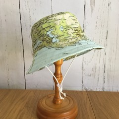 Child's sun hat - Land & Sea - 2-3 yrs