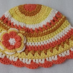Crocheted Children's hats