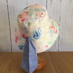 Kid's sun hat - Romantic Roses - 3-5 yrs