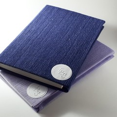 A5 Hardcover Notebook - Corduroy Blank pages