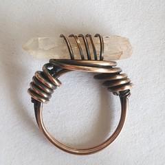 Blush Quartz Ring