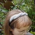 Upcycled 'twist' headband