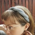Upcycled 'twist' headband