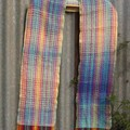 Rainbows and Clouds Handwoven Scarf