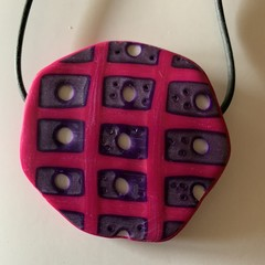 Funky Tactile Pendant