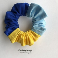 North Lakes Blues Netball  Scrunchie