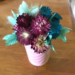 Northern Lights Mini posy arrangement - Dried Flowers - Boho chic - 15x12cm