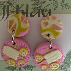 Lime and Lemonade Earrings