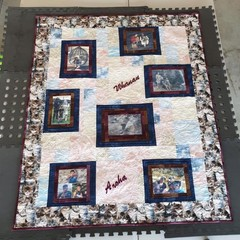 Photo Memory Family Tree Quilt