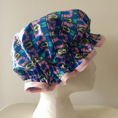 Shower Cap. Handmade. Laminated Cotton. Eco - Friendly. Girls And Adult Sizes.