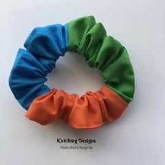 Mango Hill State School Tri-colour Scrunchie