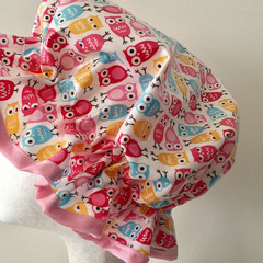 Shower Cap. Eco-Friendly. PVC BPA Free. Handmade. Durable. Child And Adult Sizes