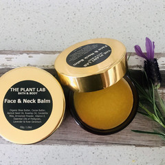 Face & Neck Balm. A Pure Plant-Based Luxurious All Natural Blend. Essential Oils