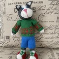 Natasha's Knitted Cat