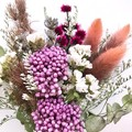 Wild Garden - Dry mini bouquet - Dried & preserved flowers - 21cm - Lavender