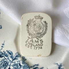 Vintage Tams Backstamp Brooch