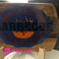 Low and slow bbq  cutting/serving boards