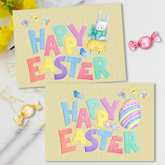 Joyful Easter Kids Cards