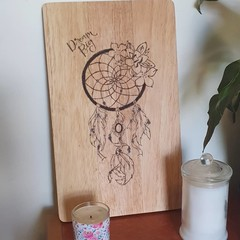 Dreamcatcher Cutting Board