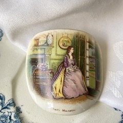 Dickens Character Brooch