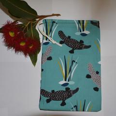 Platypus Drawstring Bag
