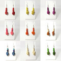Imitation Stone Earrings. Huge range of colours.