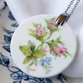 Royal Albert Buds in Flower pendant