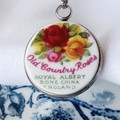 Royal Albert Backstamp pendant