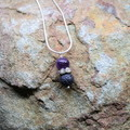 Amethyst Aromatherapy Necklace