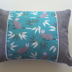 Australiana cushion, Bilby cushion, australian wildlife cushion