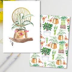 Feng Shui Wood Symbol Cards