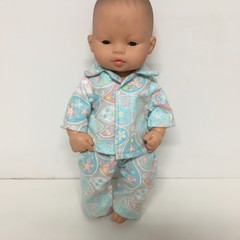 Miniland Dolls Pajamas to fit 32cm Dolls
